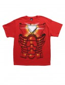 Mens Iron Man Costume Jumbo T-Shirt, halloween costume (Mens Iron Man Costume Jumbo T-Shirt)