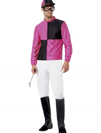 Men's Jockey Costume, halloween costume (Men's Jockey Costume)