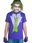 Men's Joker Costume T-Shirt, halloween costume (Men's Joker Costume T-Shirt)