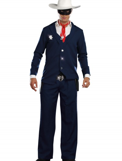 Mens Lone Cowboy Costume, halloween costume (Mens Lone Cowboy Costume)