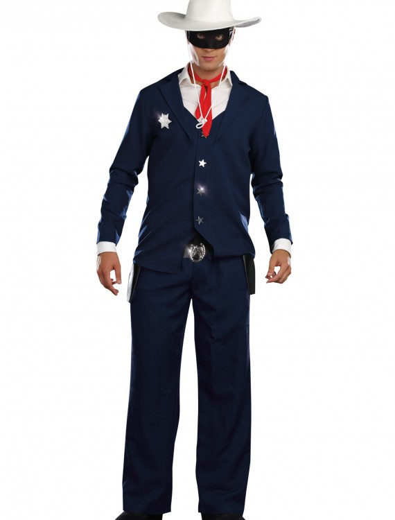 Mens Lone Cowboy Costume, halloween costume (Mens Lone Cowboy Costume)