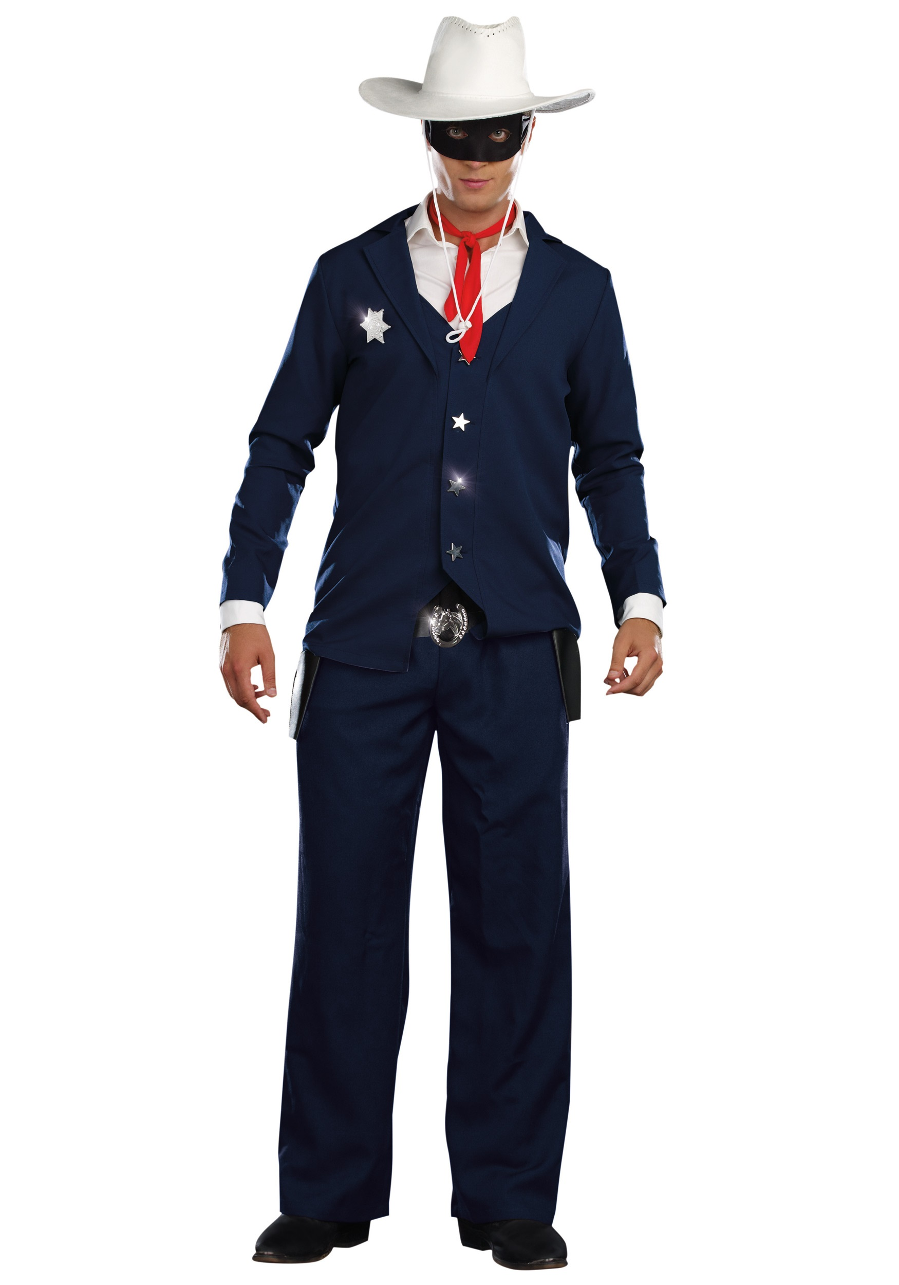 Mens Lone Cowboy Costume  sc 1 st  Halloween Costumes : cowboy costumes for boys  - Germanpascual.Com