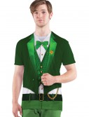 Mens Lucky Leprechaun Costume T-Shirt, halloween costume (Mens Lucky Leprechaun Costume T-Shirt)