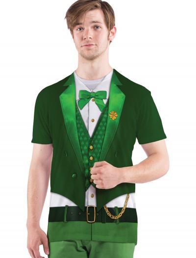 Mens Lucky Leprechaun Costume T-Shirt, halloween costume (Mens Lucky Leprechaun Costume T-Shirt)