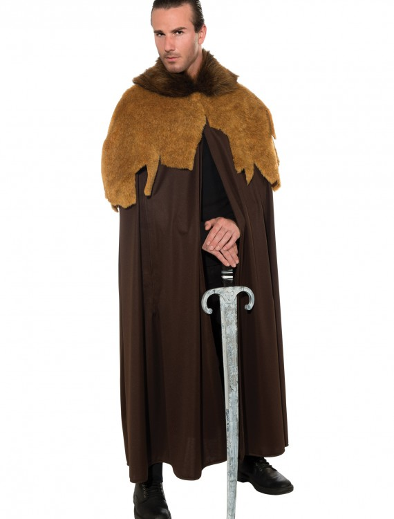 Men's Medieval Warrior Cloak, halloween costume (Men's Medieval Warrior Cloak)