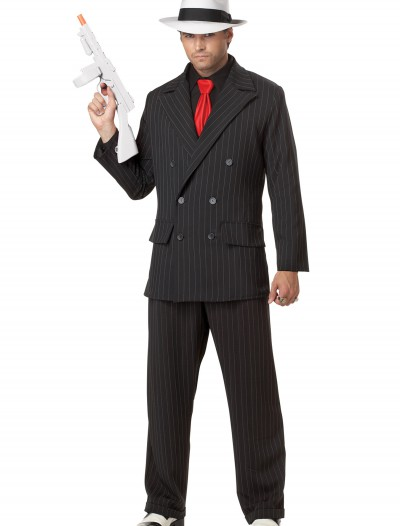 Mens Mob Boss Costume, halloween costume (Mens Mob Boss Costume)