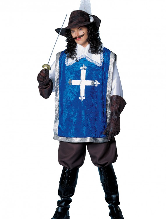 Men's Musketeer Costume, halloween costume (Men's Musketeer Costume)