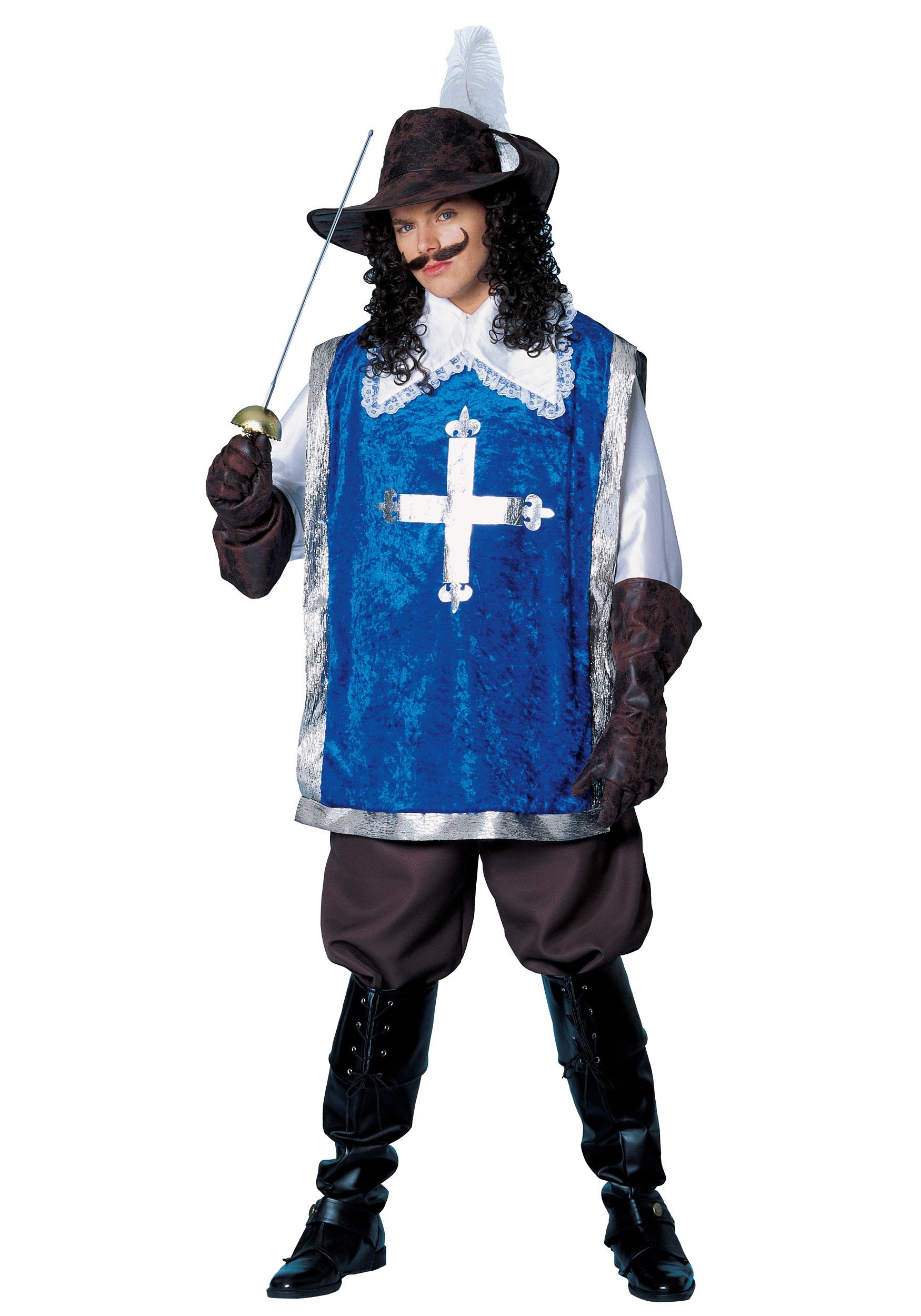 Взрослый костюм мушкетера