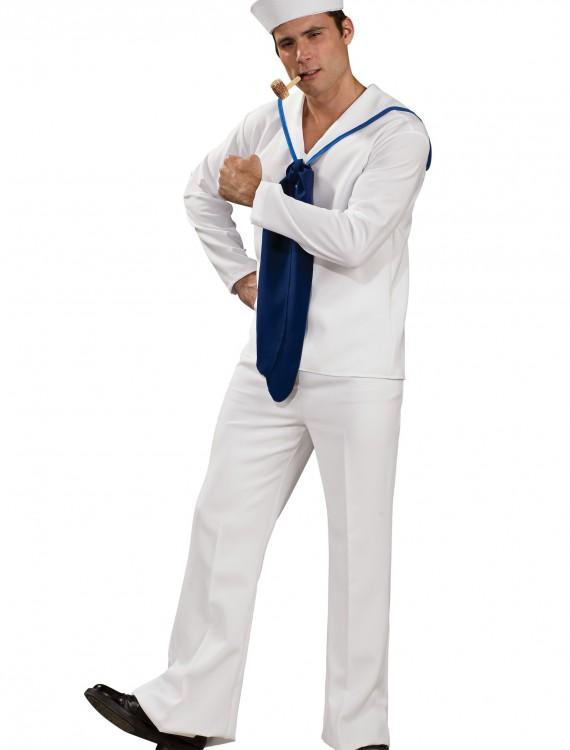 Mens Nautical Sailor Costume, halloween costume (Mens Nautical Sailor Costume)