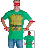 Mens Ninja Turtle T-Shirt, halloween costume (Mens Ninja Turtle T-Shirt)