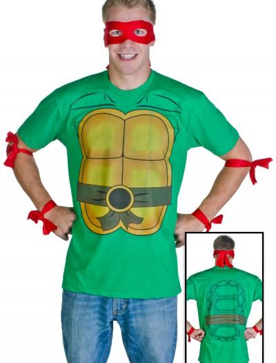 Mens Ninja Turtle T-Shirt, halloween costume (Mens Ninja Turtle T-Shirt)