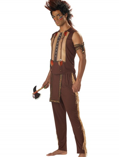 Mens Noble Indian Warrior, halloween costume (Mens Noble Indian Warrior)