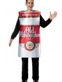 Mens Old Milwaukee Beer Costume, halloween costume (Mens Old Milwaukee Beer Costume)