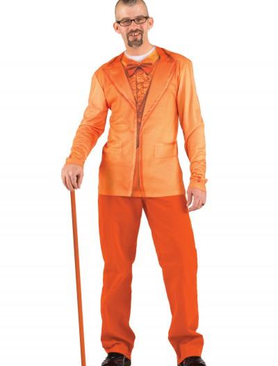 Mens Orange Tuxedo Costume TShirt, halloween costume (Mens Orange Tuxedo Costume TShirt)