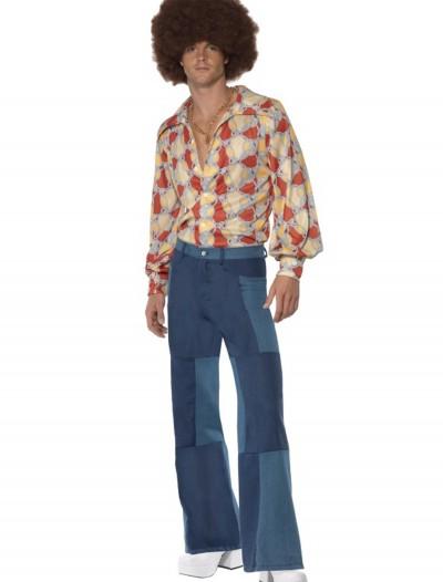 Men's Patchwork Pants, halloween costume (Men's Patchwork Pants)