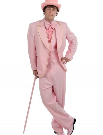 Men's Pink Tuxedo, halloween costume (Men's Pink Tuxedo)