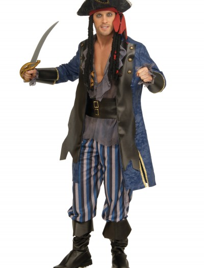 Men's Pirate Captain Costume, halloween costume (Men's Pirate Captain Costume)