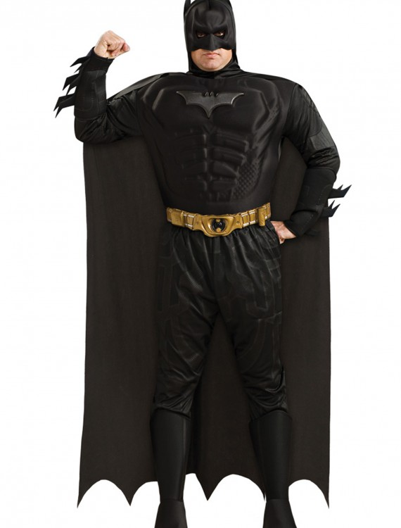 Mens Plus Size Batman Costume, halloween costume (Mens Plus Size Batman Costume)