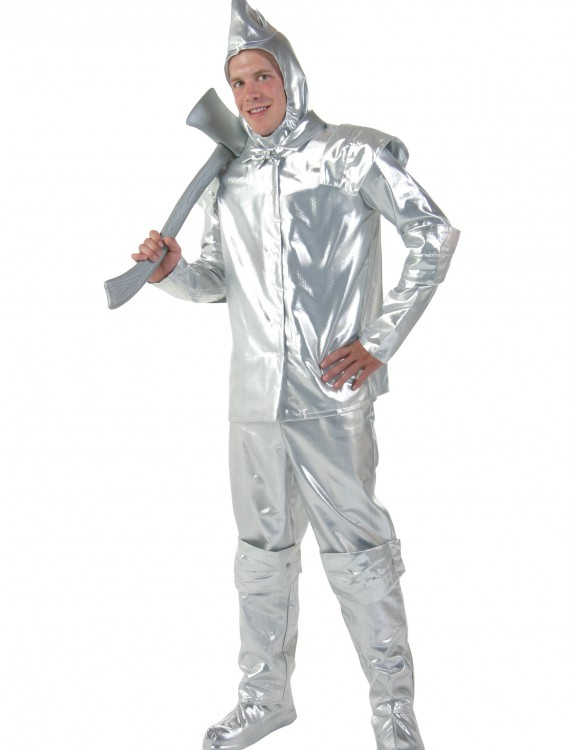 Men's Plus Size Tin Woodsman Costume, halloween costume (Men's Plus Size Tin Woodsman Costume)