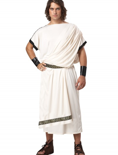 Mens Plus Size Toga Costume, halloween costume (Mens Plus Size Toga Costume)