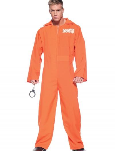 Mens Prison Jumpsuit, halloween costume (Mens Prison Jumpsuit)