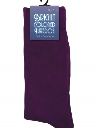 Men's Purple Socks, halloween costume (Men's Purple Socks)