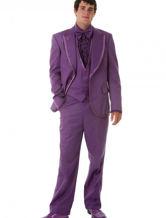 Men's Purple Tuxedo, halloween costume (Men's Purple Tuxedo)