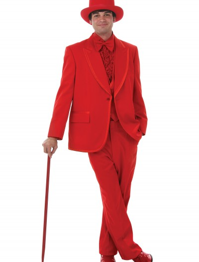 Men's Red Tuxedo, halloween costume (Men's Red Tuxedo)