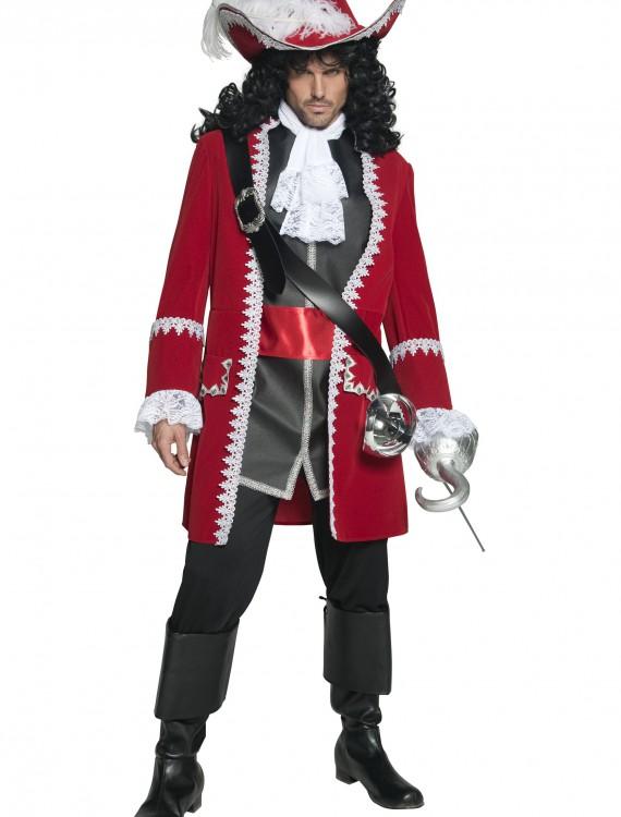 Mens Regal Pirate Captain Costume, halloween costume (Mens Regal Pirate Captain Costume)