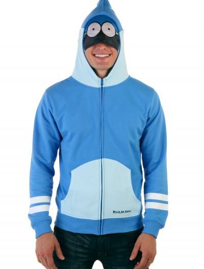 Mens Regular Show Mordecai Costume Hoodie, halloween costume (Mens Regular Show Mordecai Costume Hoodie)