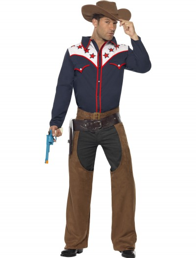 Men's Rodeo Cowboy Costume, halloween costume (Men's Rodeo Cowboy Costume)