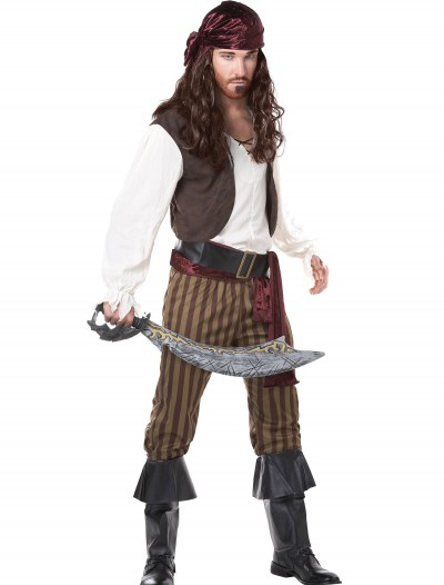 Men's Rogue Pirate Costume, halloween costume (Men's Rogue Pirate Costume)