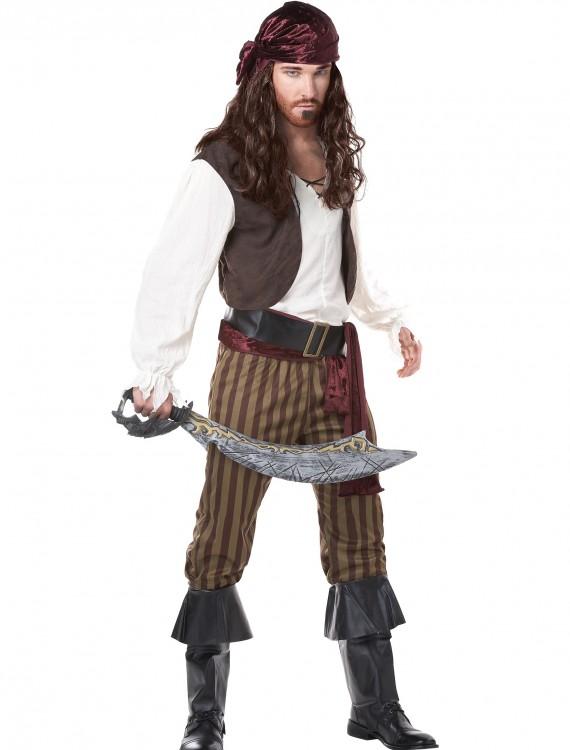 Men's Rogue Pirate Costume, halloween costume (Men's Rogue Pirate Costume)