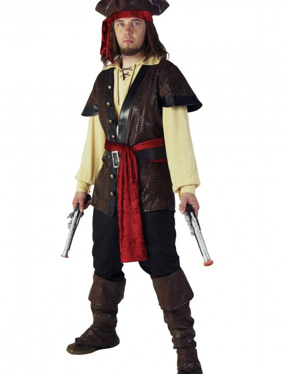 Men's Rustic Pirate Costume, halloween costume (Men's Rustic Pirate Costume)