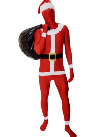 Men's Santa Morphsuit, halloween costume (Men's Santa Morphsuit)