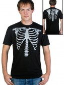 Mens Skeleton Costume T-Shirt, halloween costume (Mens Skeleton Costume T-Shirt)