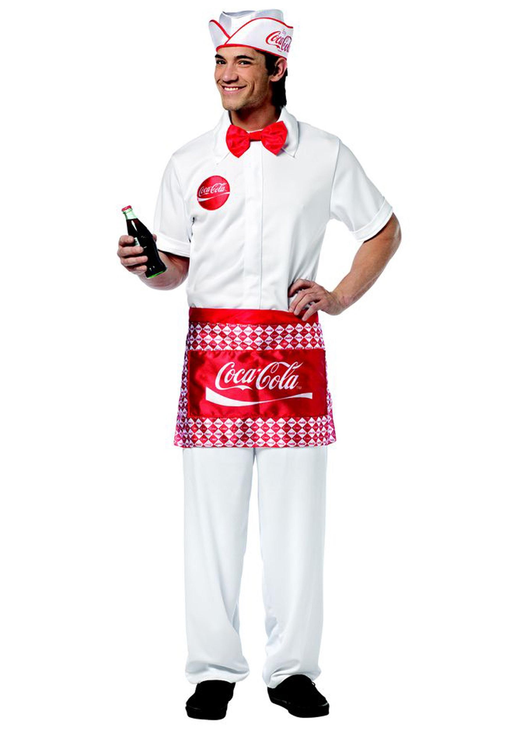 Mens Soda Jerk Costume  sc 1 st  Halloween Costumes & Mens Soda Jerk Costume - Halloween Costumes