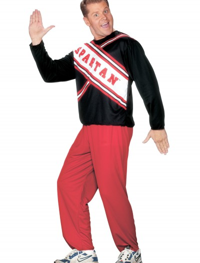 Mens Spartan Cheerleader Costume, halloween costume (Mens Spartan Cheerleader Costume)