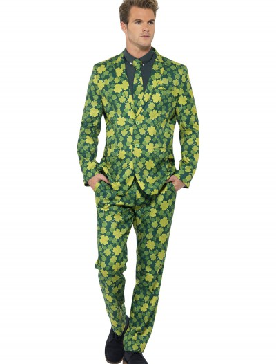 Men's St. Patrick's Day Suit, halloween costume (Men's St. Patrick's Day Suit)