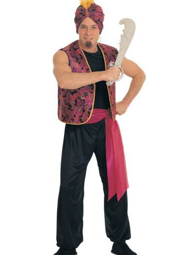 Men's Sultan Costume, halloween costume (Men's Sultan Costume)