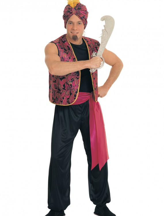 Men's Sultan Costume, halloween costume (Men's Sultan Costume)