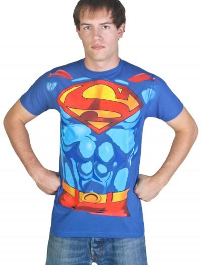 Men's Superman Costume T-Shirt, halloween costume (Men's Superman Costume T-Shirt)