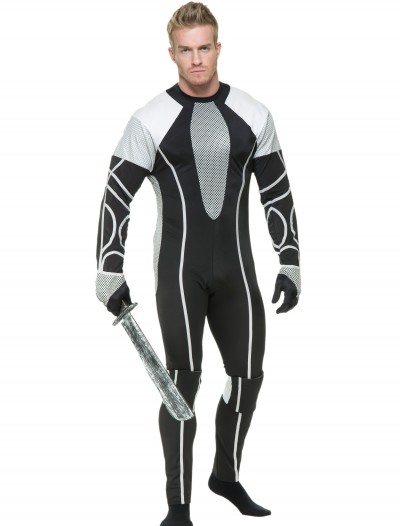 Mens Survivor Jumpsuit Costume, halloween costume (Mens Survivor Jumpsuit Costume)
