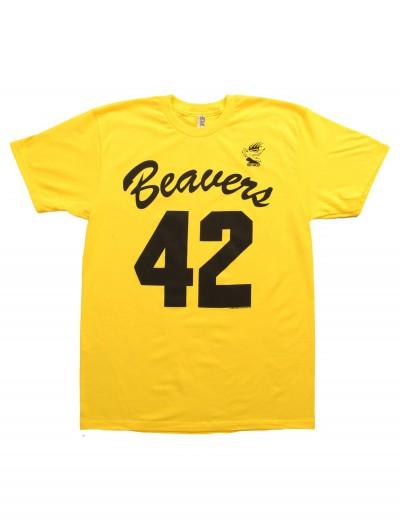 Mens Teen Wolf Beaver T-Shirt, halloween costume (Mens Teen Wolf Beaver T-Shirt)