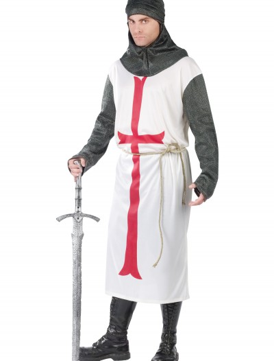 Men's Templar Knight Costume, halloween costume (Men's Templar Knight Costume)