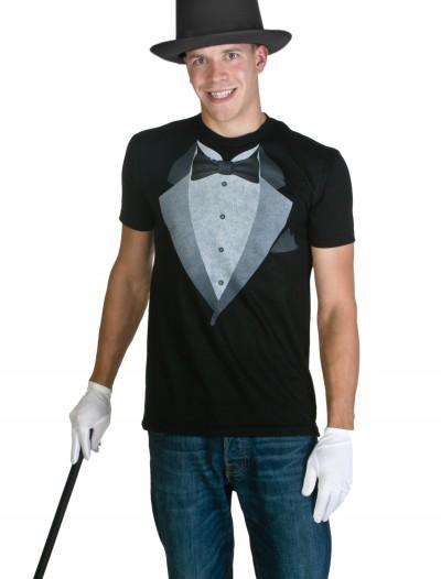 Mens Tuxedo Costume T-Shirt, halloween costume (Mens Tuxedo Costume T-Shirt)