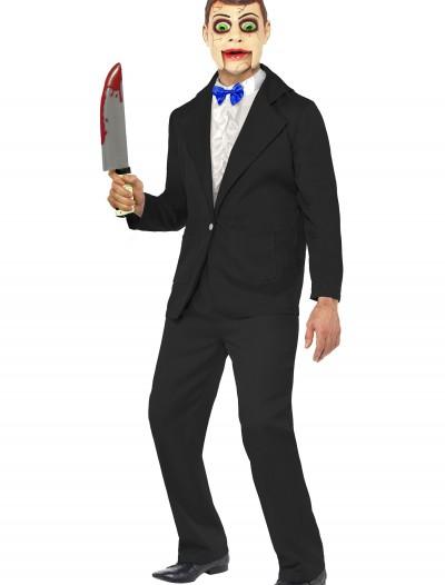 Men's Ventriloquist Dummy Costume, halloween costume (Men's Ventriloquist Dummy Costume)