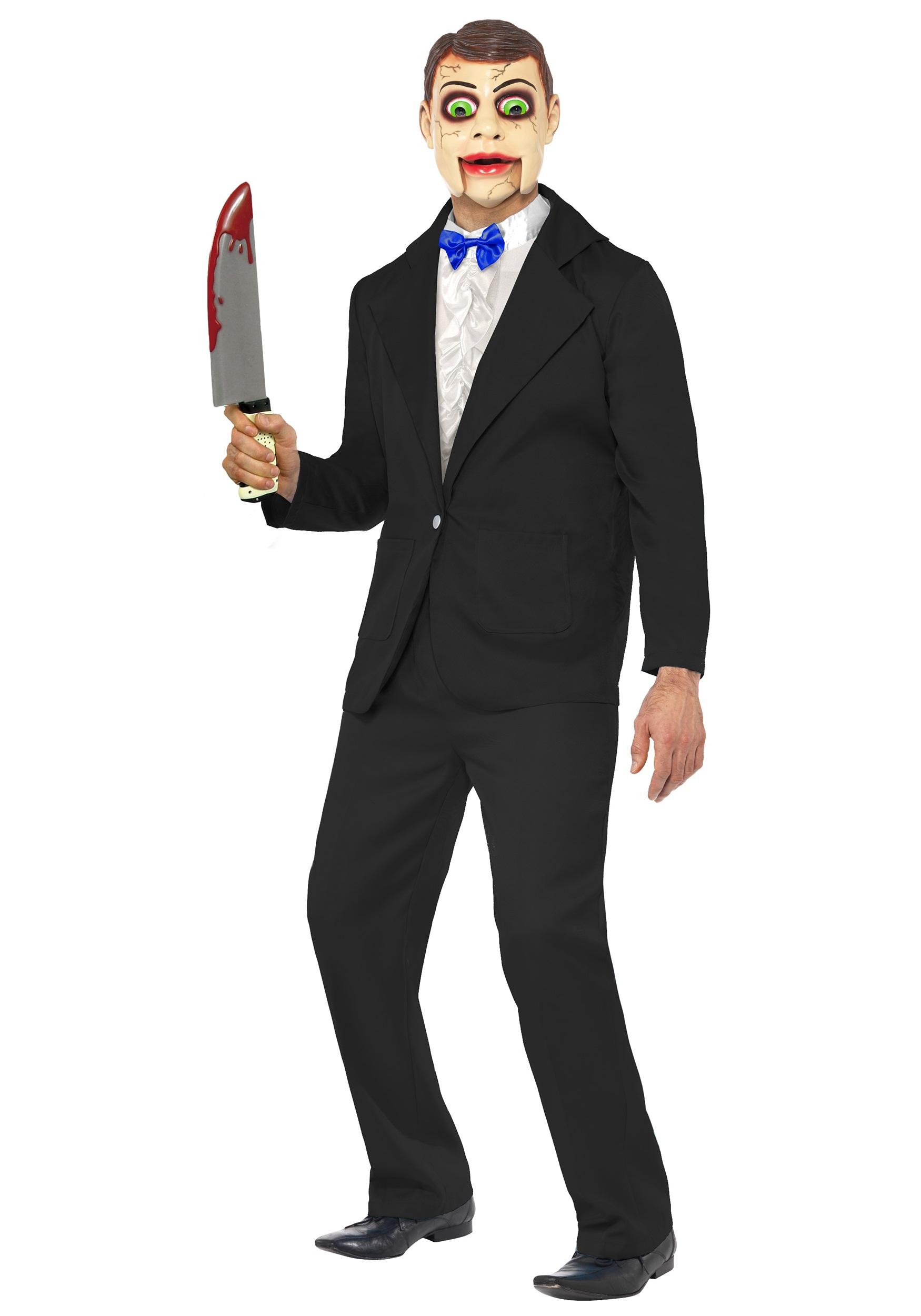 Halloween Costumes Scary Men.Men S Ventriloquist Dummy Costume