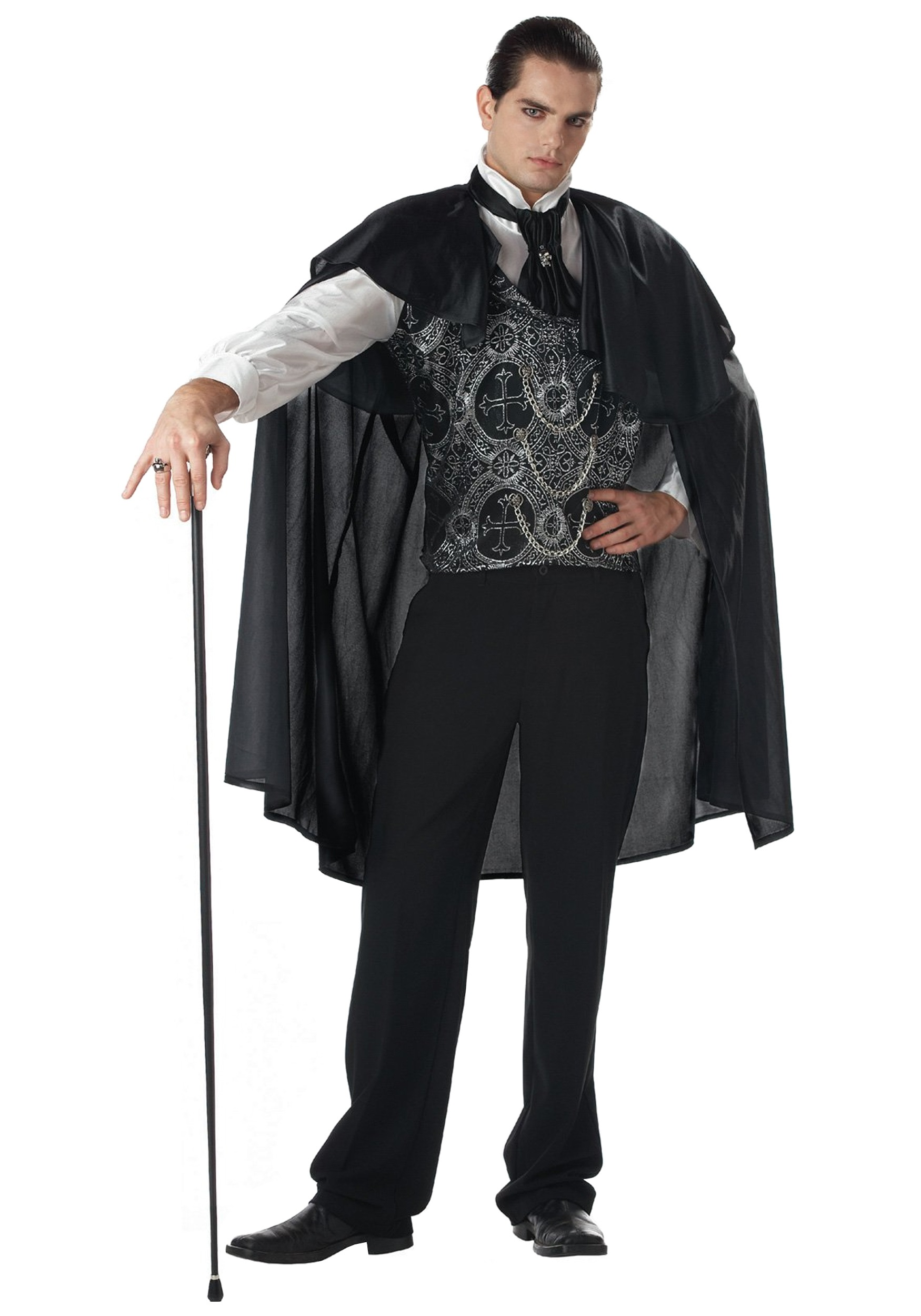 men's victorian vampire costume - halloween costumes
