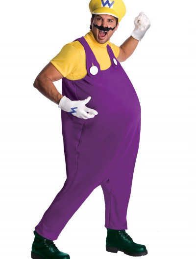 Mens Wario Costume, halloween costume (Mens Wario Costume)